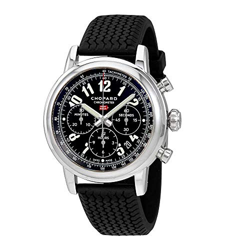 Chopard Mille Miglia Chronograph Black Dial Mens Watch 168589-3002
