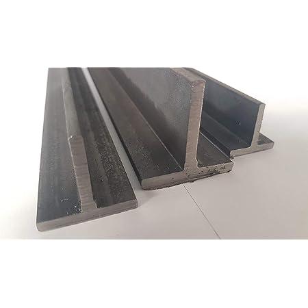 Winkelprofil Abmessung 50 x 50 x 5 mm Oberfl/äche blank roh Stahl ST37 gewalzt S235 Winkel gleichschenklig L/änge 200 cm