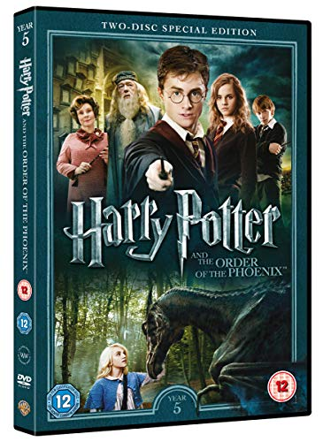 Harry Potter and the Order of the Phoenix [Year 5] [2016 Edition 2 Disk] [DVD] [2007]