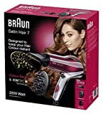 Braun Satin Hair 7 Haartrockner HD 770, mit IonTec und Colour Saver Technologie, 2200 Watt - 4