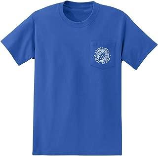 Joe's USA Koloa Surf Pocket Tees Graphic Heavyweight Cotton T-Shirts, Regular, Big & Tall
