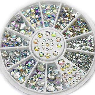1 Box Nail Art Rhinestones Nail Crystal Ab Colors Mixed Size Acrylic Design Nail Art Decorations Nail Tools & Accessories