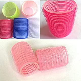 6pcs Large Hair Salon Rollers Curlers Tools Hairdressing tool Soft DIY HOT SALE