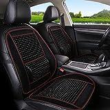 [page_title]-QCZT/Sitzbezügesets Autositzkissen Massage und Breathable-Luxury Modern Car Accessories Pad (Farbe : A)