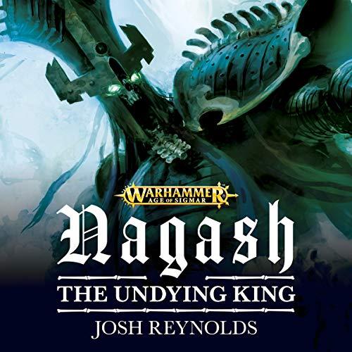 Nagash: The Undying King audiobook cover art
