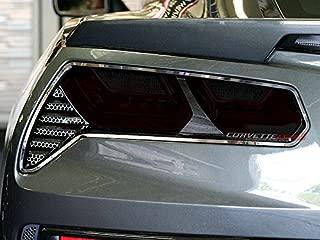 C7 Corvette Stingray / Z06 / Grand Sport 4-Piece Acrylic Full Separate Tail Light Blackout Cover Set