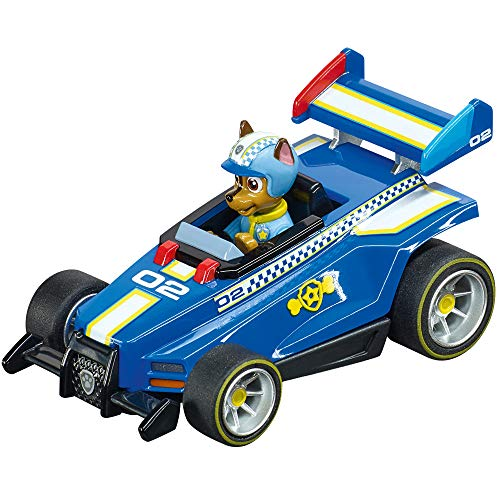 Carrera 64175 PAW Patrol Ready Race Rescue Chase 1:43 Scale Analog Slot Car Racing Vehicle for Carrera GO!!! Slot Car Race Tracks