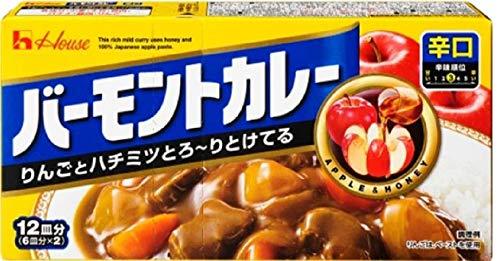 ハウス食品 バーモントカレー 辛口230g ×60個
