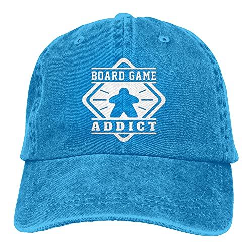 Jupsero Vintage Meeple Boardgame Unisex Casquette Hat Gorra de béisbol Ajustable Trucker Fashion Hat para Adultos