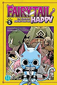 Fairy Tail - la Grande Aventure de Happy Edition simple Tome 5