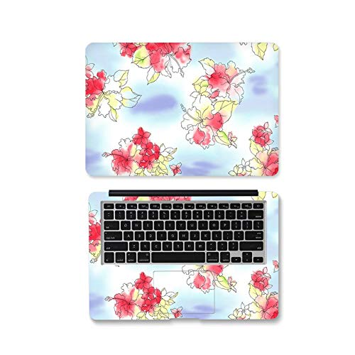 Cm-262-12 Case for Xiaomi Air 13.3 / Asus / Macbook Pro / Acer / HP / Lenovo Self-Adhesive Flower Skin Cover for Laptops 12 Inches 14 Inches 15.6