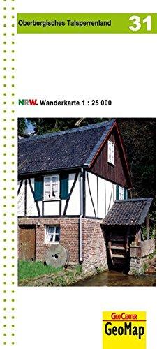 Wanderkarte Oberbergisches Talsperrenland 1:25.000, WK 31 (Geo Map)
