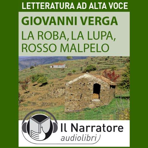 La Roba, La Lupa, Rosso Malpelo cover art