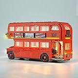 LED Light Set per Lego Technic 10258 Mattoni London Bus di Edilizia Compatibile 21045 Creator Città Blocks Giocattoli Regali (Solo LED)