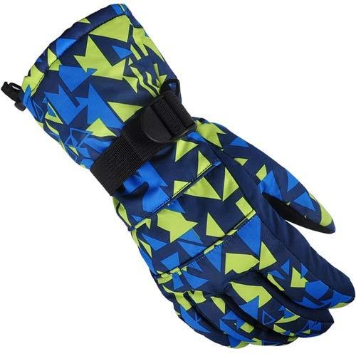 JINSUO DXXLD Männer/Frauen/Kinder-Skihandschuhe Snowboard-Handschuhe Ultraleichte wasserdichter Winter Sonw warmen Fleece-Motorrad-Motorschlitten Reithandschuh (Color : NO.3, Size : X-Large)