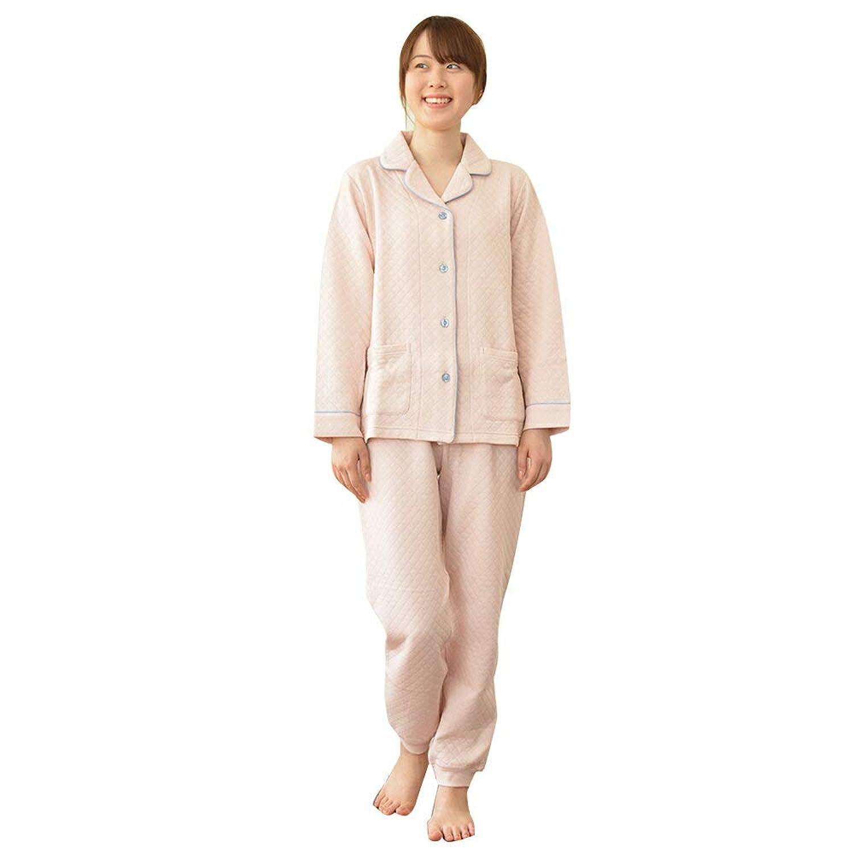 LilyPalette リリーパレット あったかキルトパジャマ テーラード 上下セット