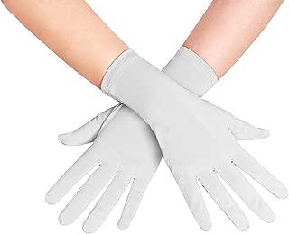 Adult Unisex Wrist Length Lycra Spandex Short Gloves