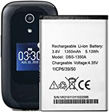 Replacement Battery DBS-1350A for Doro 7050 Consumer Cellular Flip 1350 mAh