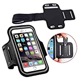 SCORIA Sports Running Jogging Gym Armband Case Holder for Smartphone, Android Galaxy Any