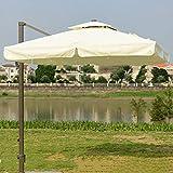 Hcyai Jardín Parasol 8 Costillas al Aire Libre Parasol Parasol...