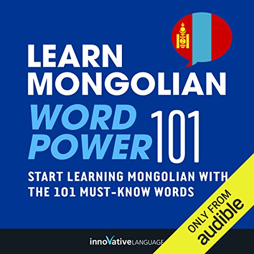 Learn Mongolian - Word Power 101 cover art