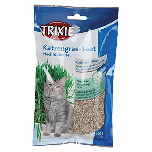 TRIXIE Recambio hierba Gatos ref. 4235, 100 g, Gato