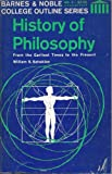 Outline History of Philosophy (College Outline)
