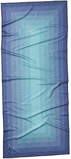Nomadix Towel - Perfect for Yoga, Camping, Beach and Travel (Zone Teal, Double Sided)