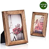 Emfogo 4x6 Picture Frame Photo Display for Tabletop Display Wall Mount...