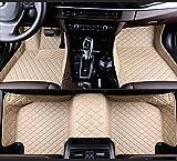 FFHJHJ Alfombrillas De Cuero para Coche Compatible con BMW 8 Series (2door) 2019, Revestimientos De Suelo Impermeables para Todo Tipo De Clima