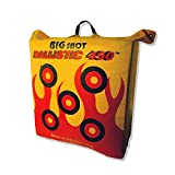 BIGSHOT Archery Ballistic 450 X Bag Target, 24 x 24 x 12/42 lb, Yellow