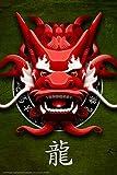 Dragon - Chinese Dragon - Fantasy Poster Drachen - Grösse