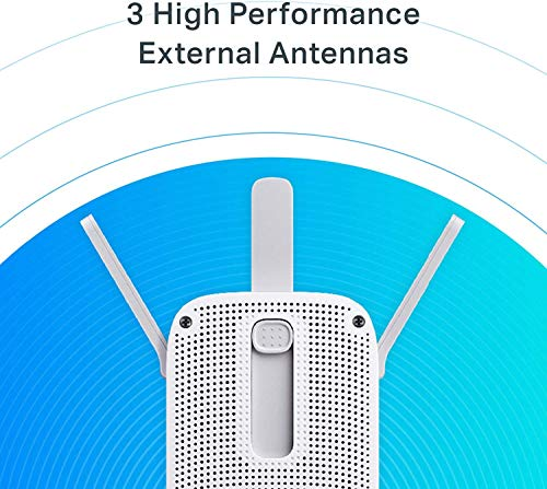 TP-Link AC1750 Wifi Extender| PCMag Editor's Choice | Up to 1750Mbps | Dual Band Wifi Range Extender, Internet Booster, Access Point | Extend Wifi Signal to Smart Home & Alexa Devices (RE450)