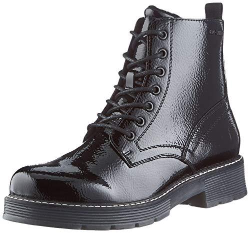 TOM TAILOR Damen 9093501 Halblange Stiefel, Schwarz (Black), 38 EU