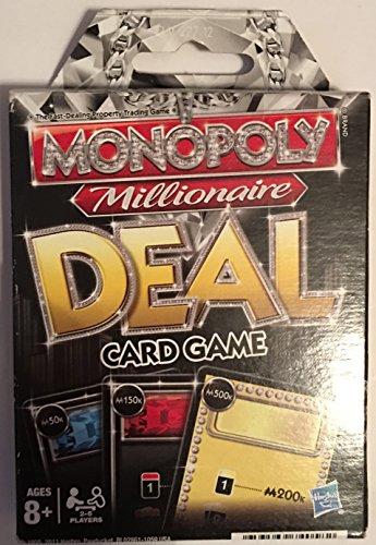Hasbro Gaming Parker Brothers Monopoly Millionaire Deal