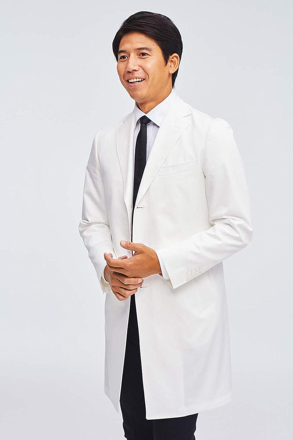 魔女忘れっぽいステープル[uniform UNITED ARROWS] MENS ドクターコートexecutive/白衣/メディカルウェア