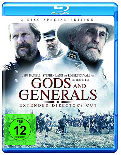 Gods and Generals - Extended Cut [Alemania] [Blu-ray]