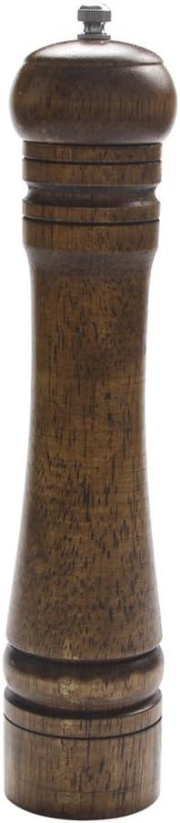 Salt SALENEW very popular OFFicial site Pepper Mill Solid Oaken Grinder Adjustab Wood Strong