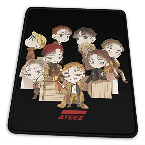 ATEEZ Pro Gaming Mouse Pad, Anime Print Personality Mousepad 10 x 12 inch