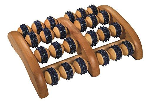 Croll & Denecke Fußroller, aus Holz, 2 x 4 Rollen