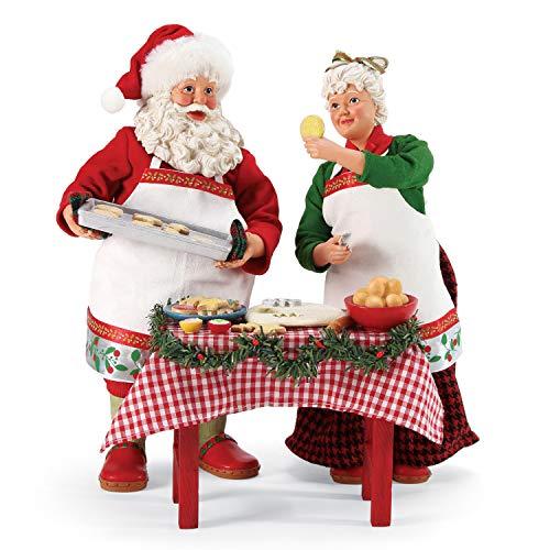 Department 56 Possible Dreams Santa Bon Appetit Mrs. Claus Cookie Party Figurine, 10.5 Inch, Multicolor