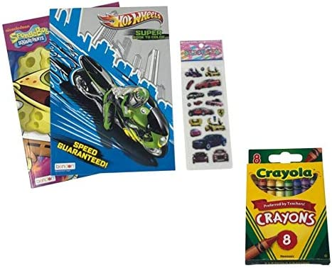 Hot Ranking TOP4 Wheels Coloring Overseas parallel import regular item Book and Stickers Set - Bundle Gift Includes