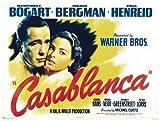 Casablanca - Horizontal Film Movie Poster Plakat Druck -