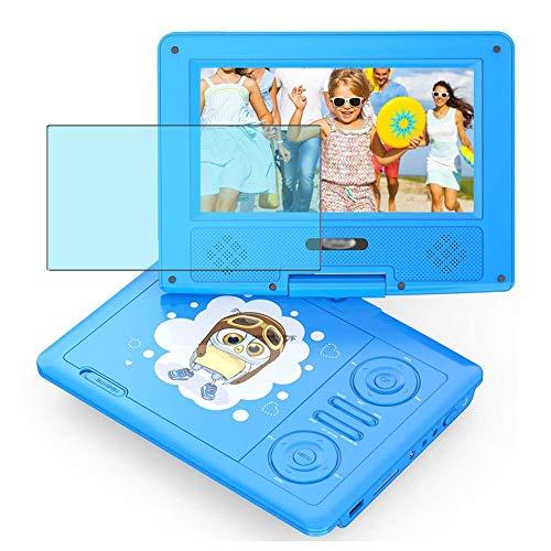 Vaxson 2 Stück Anti Blaulicht Schutzfolie, kompatibel mit Funavo Portable DVD Player 7.5