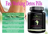 DETOX COLON CLEANSE FOR WEIGHT LOSS. Fast-Acting Extra Strength Natural 15 Day Cleanse Detox Pills with Natural Laxatives, Probiotic, Fiber, Constipation Relief, Reduces Bloating, Boost Energy