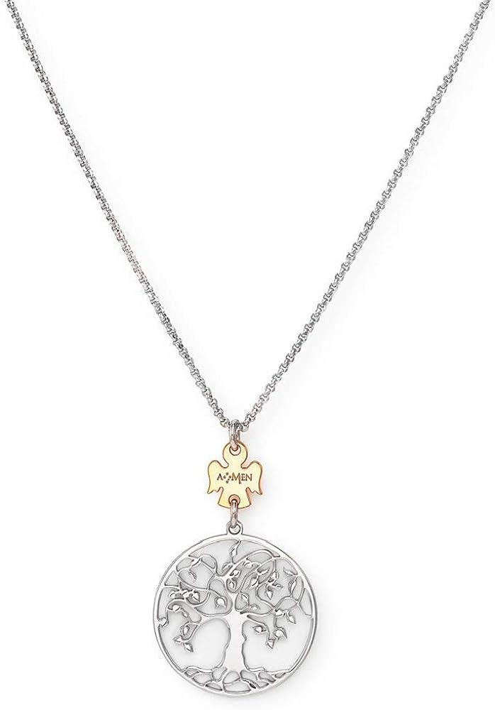 Amen collana donna in argento 925 CLALABR3