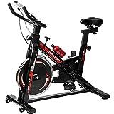 TLV BS2 Bicicleta Estatica de Spinning Bici Ejercicio Gym Casa Indoor Fitness Volante...