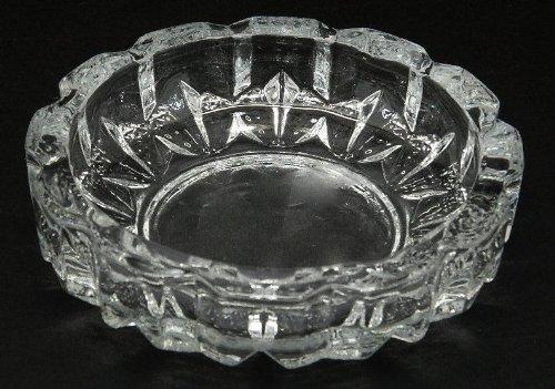 Crystal Cut Glass Round Ashtray Ash Tray MY-2790