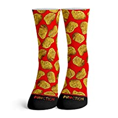 Choose From Our Wide Selection of The Tastiest, Mouth Watering Food Socks Made From A Breathable Polyester Material That Will Keep Your Feet Cool All Socks Feature An All Over Sublimation Print To Ensure A Long Lasting Graphic Our Comfortable Socks F...