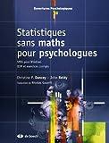Statistiques sans maths pour psychologues - SPSS pour Windows QCM et exercices corrigés
